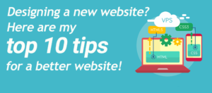 Website design tips for a better website