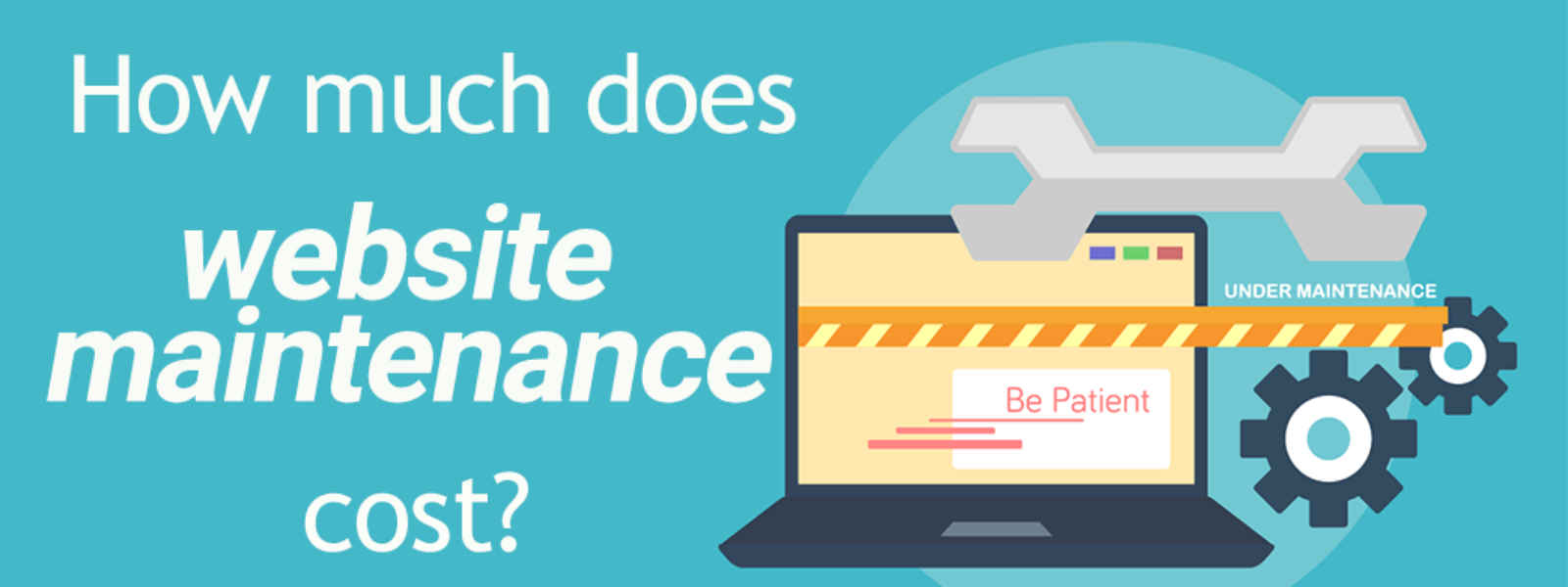 How much does website maintenance cost?